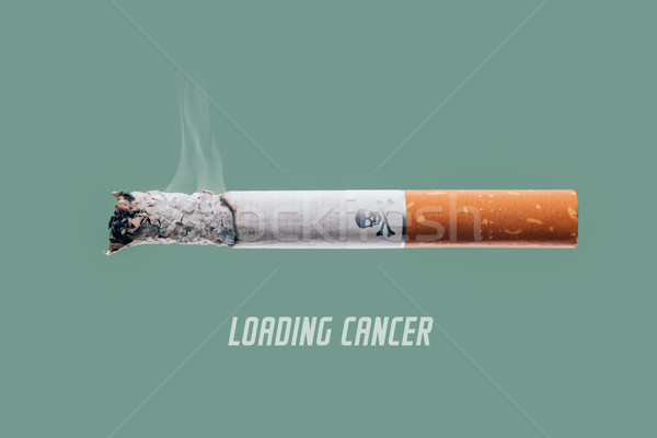 Stock photo: Loading cancer