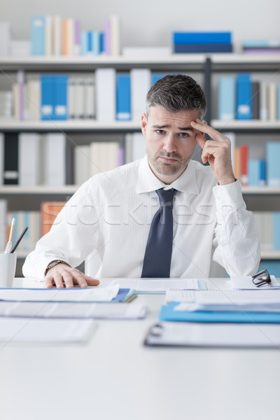 Stressful job Stock photo © stokkete