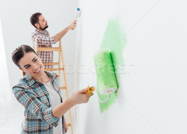 Home decoration and renovation Stock photo © stokkete