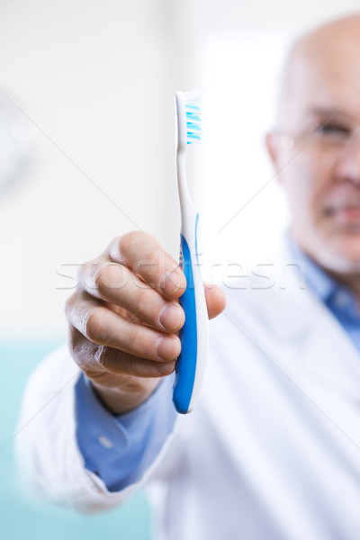 Dental hygiene and prevention Stock photo © stokkete