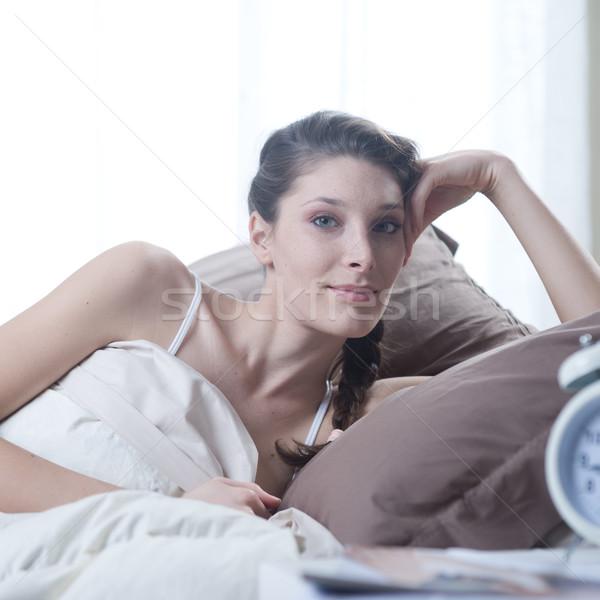 Stock photo: Waking up peacefully