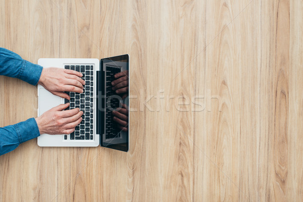 Professional laptop Stock photo © stokkete
