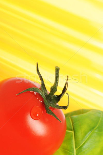 Spaghetti Italiaans pasta soortgelijk foto mijn Stockfoto © stokkete