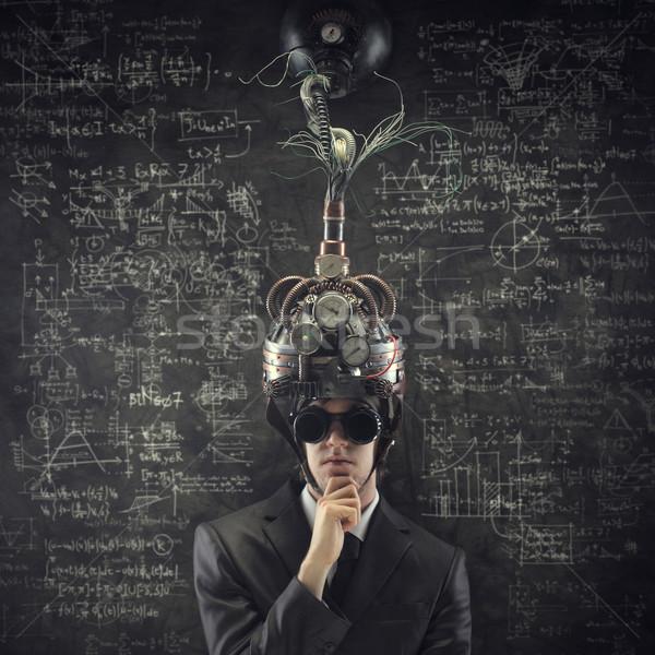 Business oplossingen man mannen manager Stockfoto © stokkete