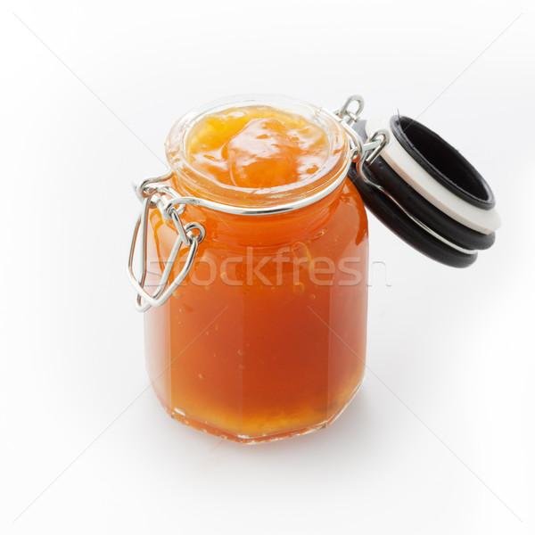 Jar of marmalade Stock photo © stokkete