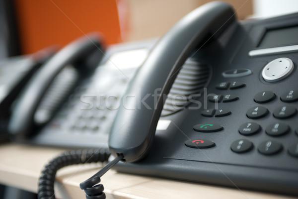 Telephone customer service Stock photo © stokkete
