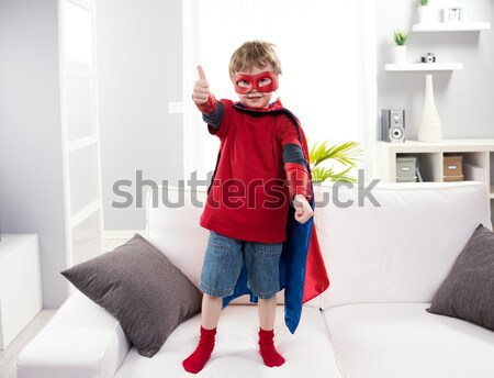 Little super hero Stock photo © stokkete