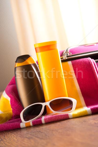 Sun protection Stock photo © stokkete