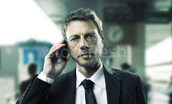 Business travel Stock photo © stokkete