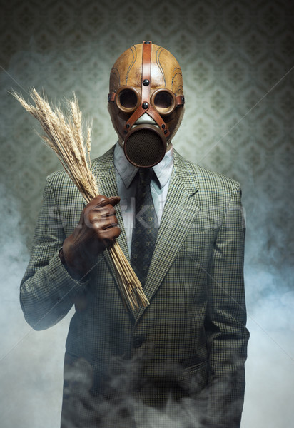 Contaminated food and pollution. Stock photo © stokkete