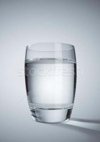 Water glas grijs natuur drinken vloeibare Stockfoto © stokkete