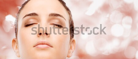 Radiant glowing skin Stock photo © stokkete