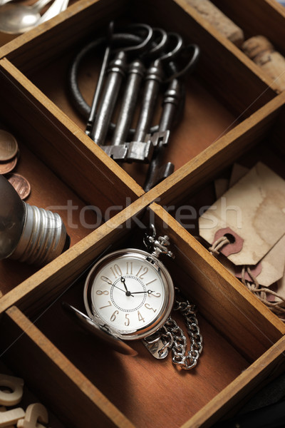 close up of old objects  Stock photo © stokkete