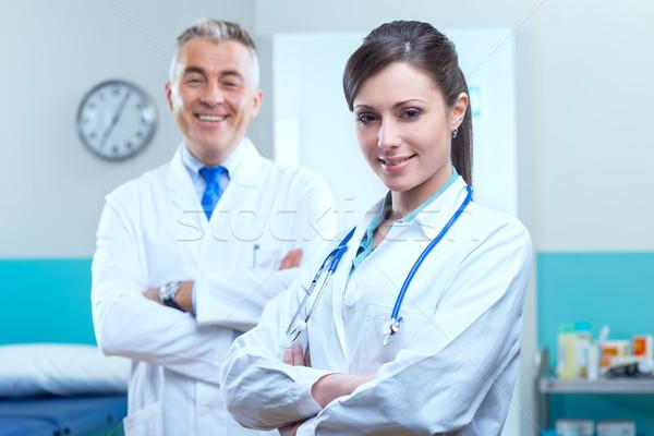 Сток-фото: здравоохранения · профессионалов · медицинского · оборудования · врач · больницу