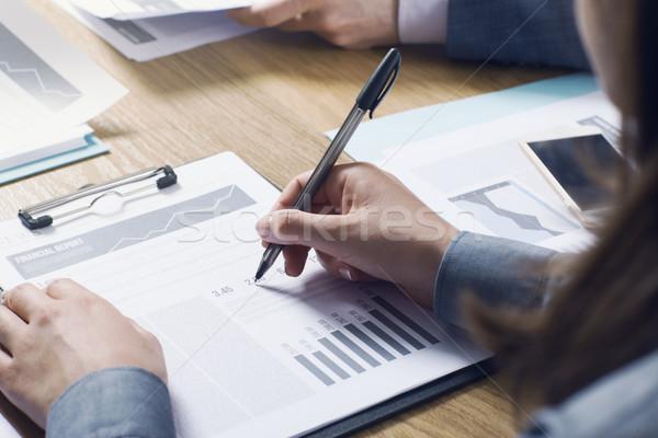 ビジネスチーム ビジネスの方々  チーム 金融 ストックフォト © stokkete