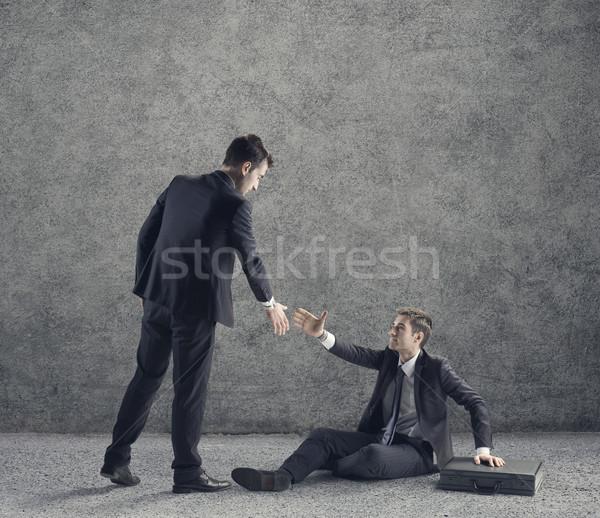 Helping hand Stock photo © stokkete
