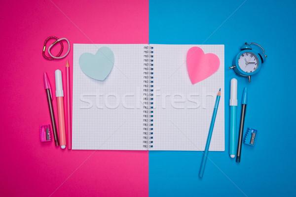 Opposites attract Stock photo © stokkete