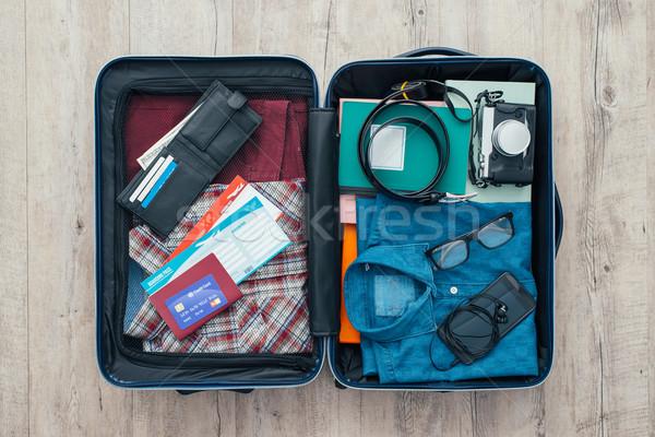 Traveler's bag Stock photo © stokkete