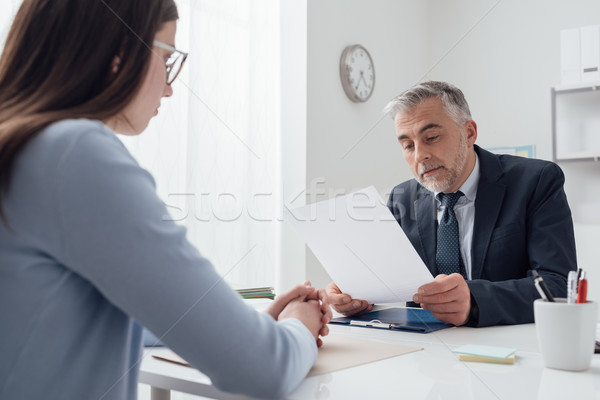 Job interview Stock photo © stokkete