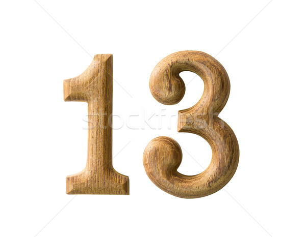 Wooden numeric Stock photo © stoonn