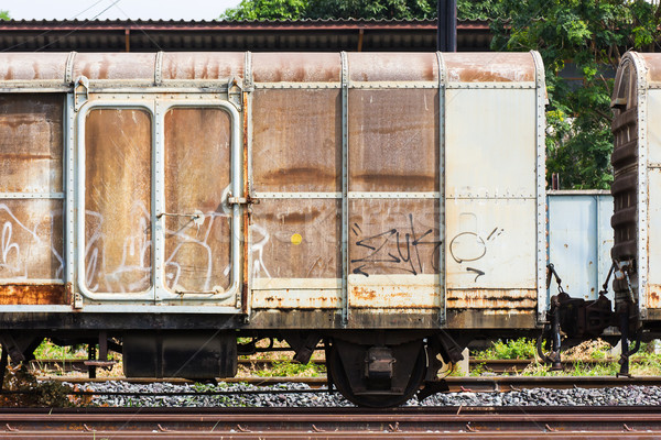 Railroad container  Stock photo © stoonn