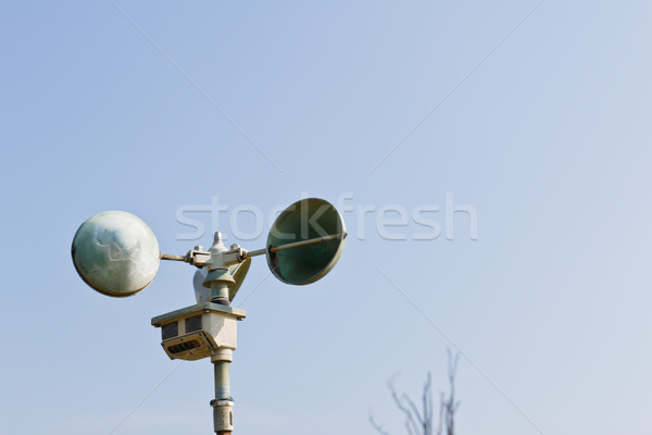 Anemometer station Stock photo © stoonn