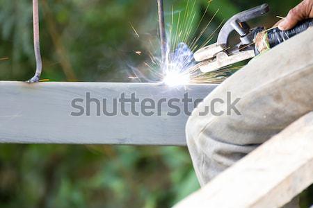 Stock photo: Welder