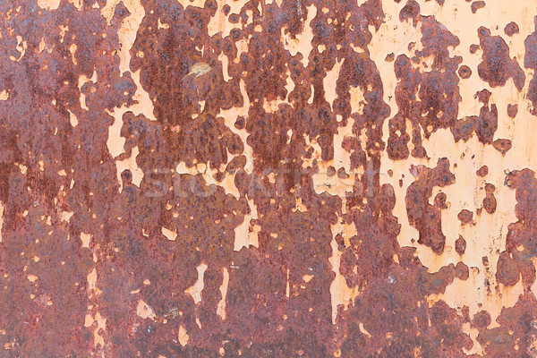 Textura velho metal aço parede ferrugem Foto stock © stoonn