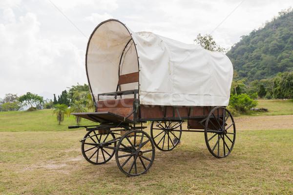 Covered wagon  Stock photo © stoonn