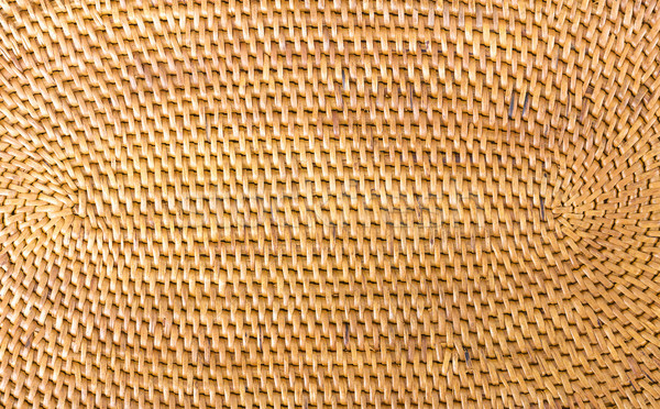 Stock photo: Weave pattern  rattan background