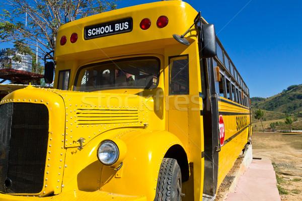 Yellow School Bus Stock photo © stoonn