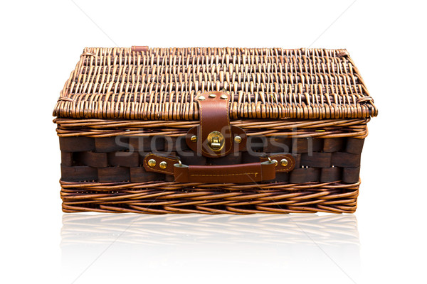Basket rattan Stock photo © stoonn