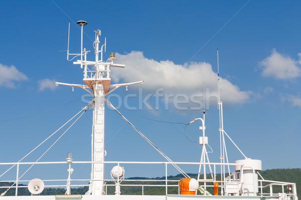 Ships antenna Stock photo © stoonn