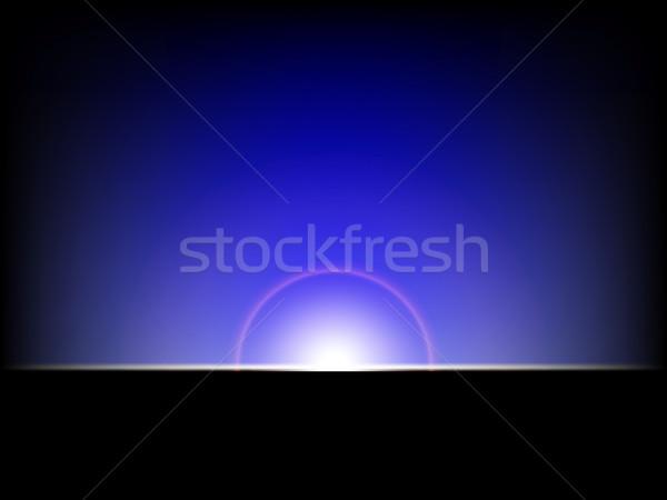 Abstrato luzes escuro luz estrela cor Foto stock © stoonn