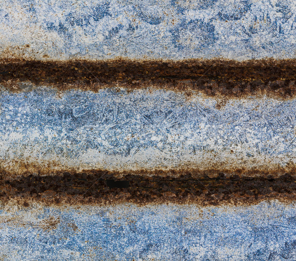 öreg rozsdás cink tányér vasaló textúra Stock fotó © stoonn