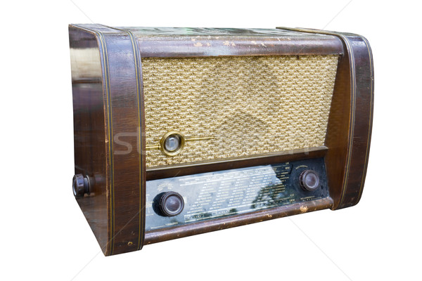 Radio retro1 Stock photo © stoonn