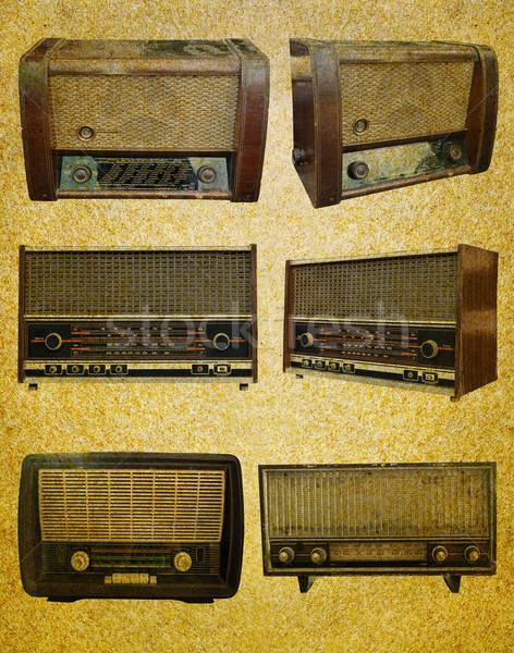 Radio retro set  Stock photo © stoonn