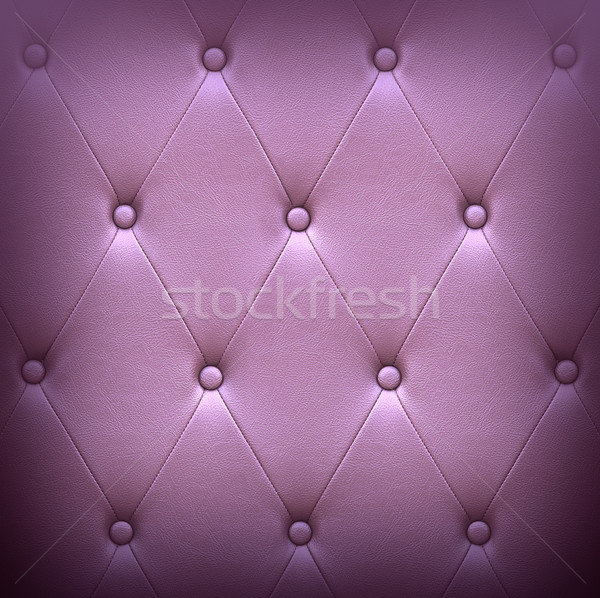 Pattern of dark violet leather seat upholstery Stock photo © stoonn