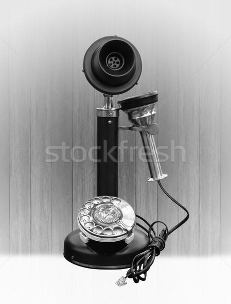 Vintage telephone  Stock photo © stoonn