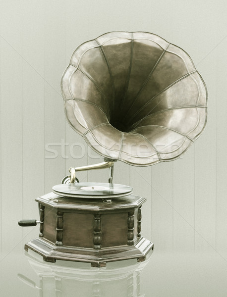 Vintage Gramophone  Stock photo © stoonn