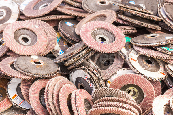 Old sanding discs  Stock photo © stoonn