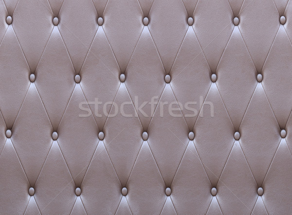 Pattern of brown leather seat upholstery Stock photo © stoonn