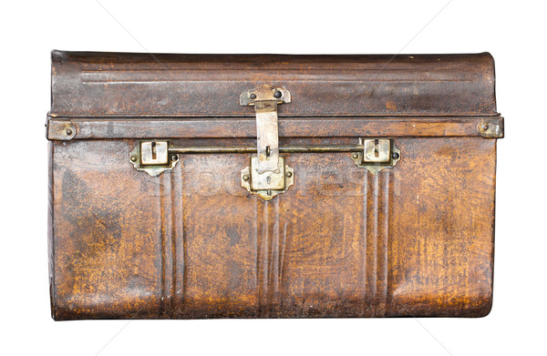 Old metal  treasure chest   Stock photo © stoonn