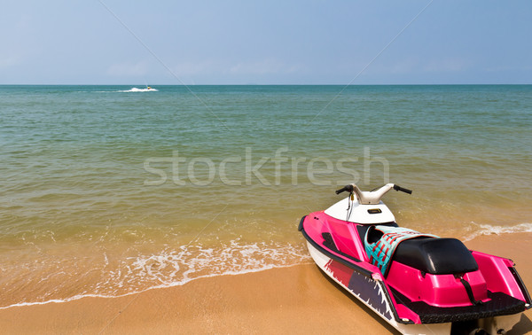 Stock photo: Water scooters1