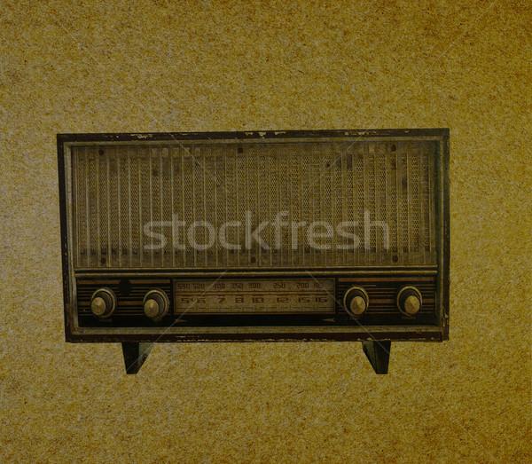 Stock photo: Radio retro