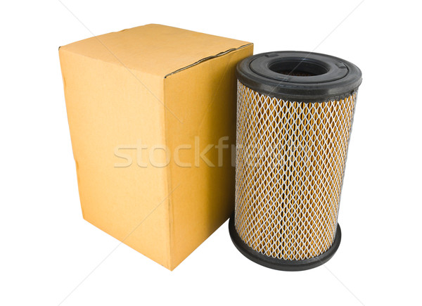 Close-up of a air filter and box Stock photo © stoonn