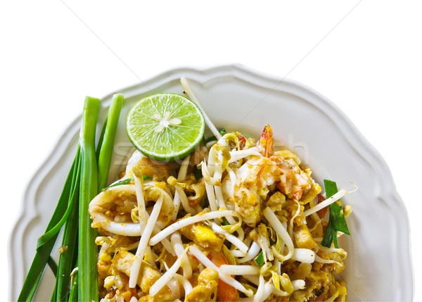 Thai cuisine,Pad Thai Stock photo © stoonn