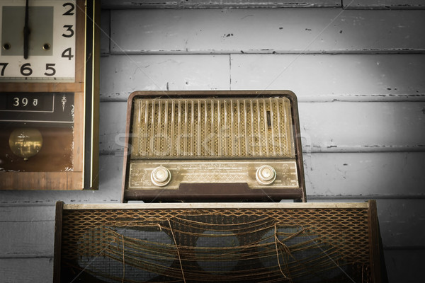 Vintage Radio player  Stock photo © stoonn