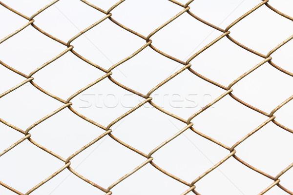 chain link fence Stock photo © stoonn