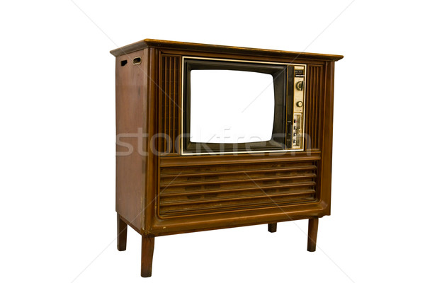 Retro Vintage television1 Stock photo © stoonn